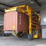 Straddle Carrier Poort