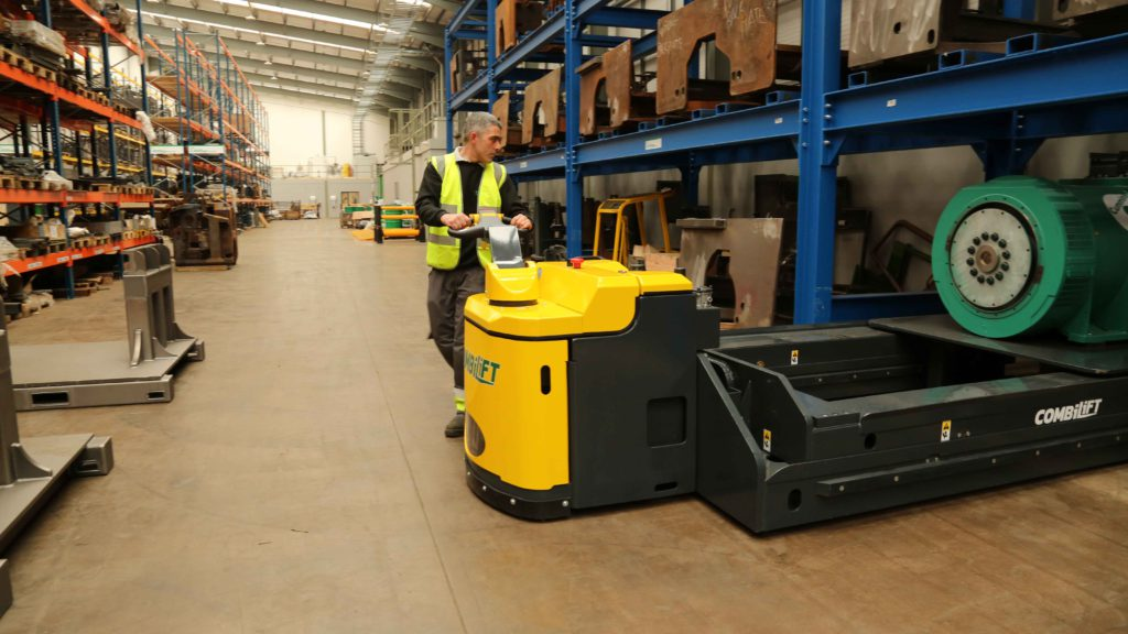 powered pallet truck Mabo Lifting