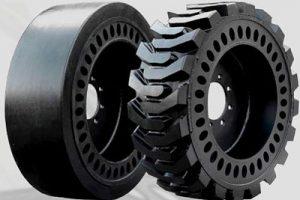 chariot latéral pneus