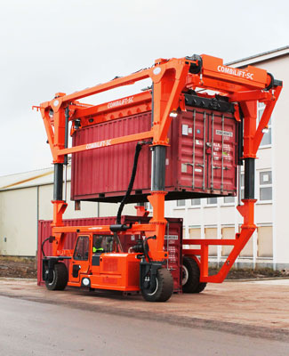 reachstacker chariot porte-conteneur Mabo Lifting