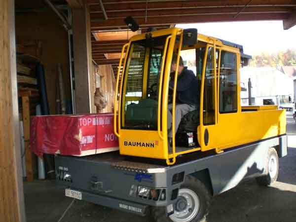 Chariot latéral Baumann GS