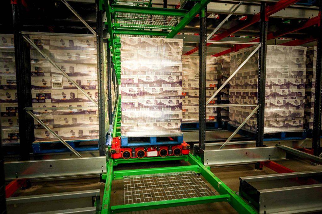 Automatisation d'entrepôt